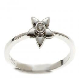 0,03 ct Diamant Stern Ring