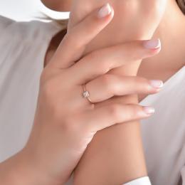 Diamant Trendıge Ring