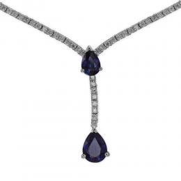 2,62  Saphir Diamant Kette
