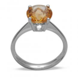 1,34 ct  Citrin Ring
