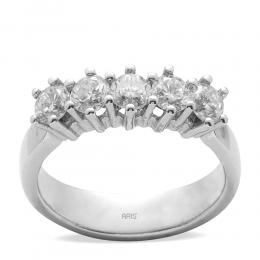 0,98 ct  Diamant Ring