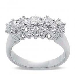 0,68 ct  Diamant Ring