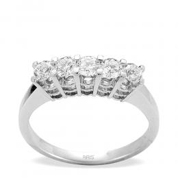 0,45 ct  Diamant Ring