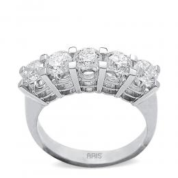 1,24 ct  Diamant Ring