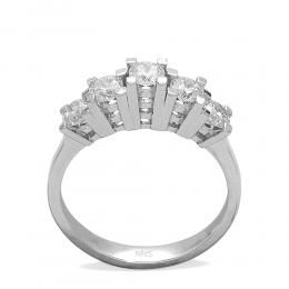 0,96 ct  Diamant Ring