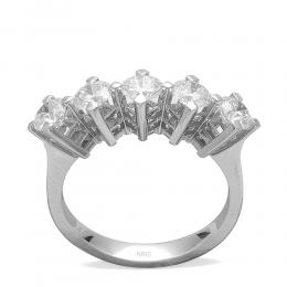 1,55 ct  Diamant Ring