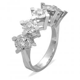 0,43 ct  Diamant Ring