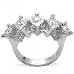 0,43 ct  Diamant Ring