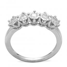 0,55 ct  Diamant Ring