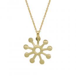 Damen Halskette Symbol Fofo Gelbgold 585/- 14 Karat
