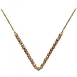 14 Karat Dorica Gold Bulk Halskette