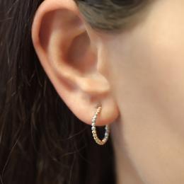 585er Goldene Ohrringe