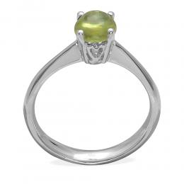 1,00 ct Peridot Gold Ring