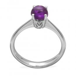 0,99 ct Amethyst Gold Ring