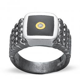 0,05 ct Diamant Männlicher Ring