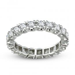 1,37 ct Diamant Memoire Ring