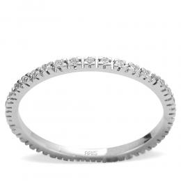 0,19 ct Diamant Memoire Ring
