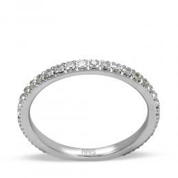 Memoire Brillant Ring in 585er Weißgold