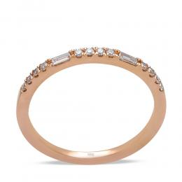 0,15 ct Diamant Memoire Ring