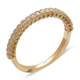 0,26 ct Diamant Memoire Ring