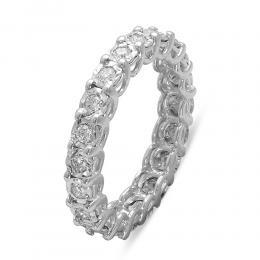 0,50 ct  Diamant Memoire Ring