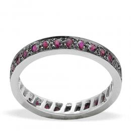 0,63 ct Rubin Memoire Ring