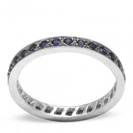 0,51 ct Saphir Memoire Ring