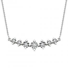 0,36 ct Diamant Miracle Kette