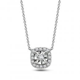0,18 ct Diamant Miracle Kette