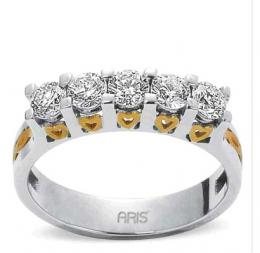 0,90 Ct. Diamant Ring