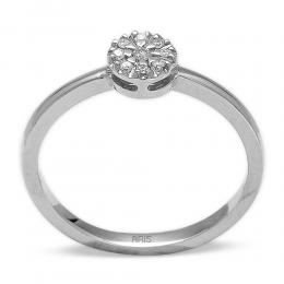 0,07 ct Diamant Effect Ring