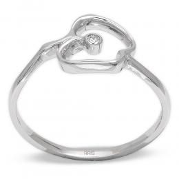 0,01 ct  Diamant Ring