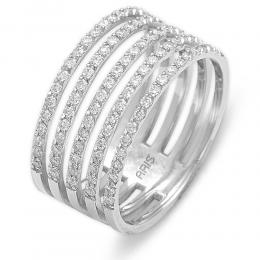 0,63 ct Diamant Fantasie Ring