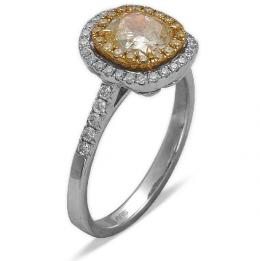 Ct. 0.13 Diamant Ring