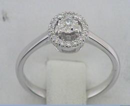 Ct  0.011 Baguette Ring