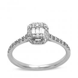 Baget Diamant Ringe