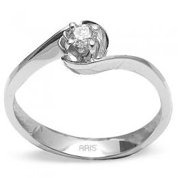 0,16 Ct. Solitaire Diamant Ring