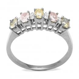 0,67 ct Fancydiamond Ring