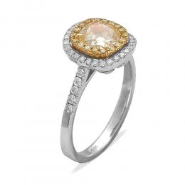 Ct. 0.13 Diamant Ring