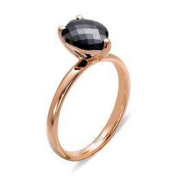 1,50 ct Schwarz Diamant Ring
