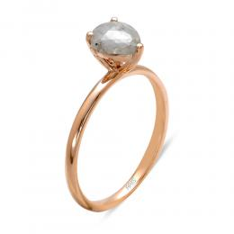 0,85 ct Rohdiamant Ring
