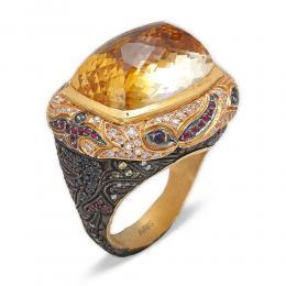 27,98 ct Topas Diamant Ring