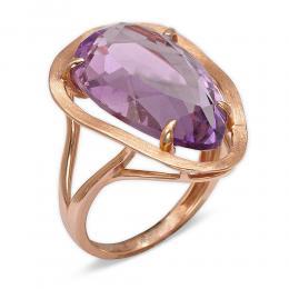 11,74 ct Amethyst Diamant Ring