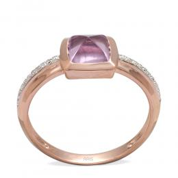 1,17 ct Amethyst Diamant Ring