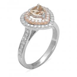 0,57 ct Fancy Diamant Ring