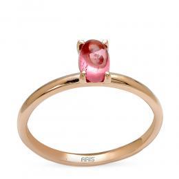 0.61 ct. Rosequarz Ring