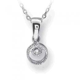 0,02 ct  Diamant Kette