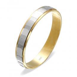 585er 14K Gelb Gold Trauring