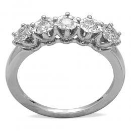 0,55 ct  Diamant Ring