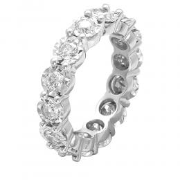 1,67 ct Diamant Memoire Ring